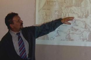 Prof. Dr. Werner Freitag bei der GhL (2009)