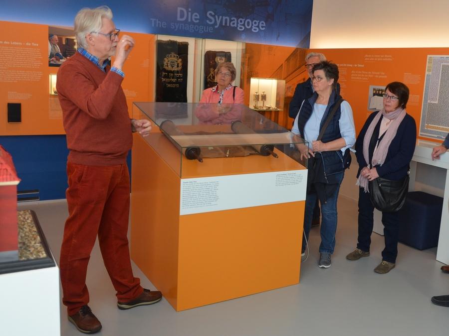 Museumsführung mit Thomas Ridder